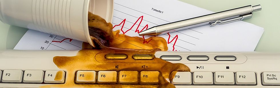 Ремонт залитых ноутбуков